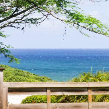 Vue mer depuis la Villa Blue Lagoon