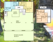 Plan de la Villa Blue Lagoon