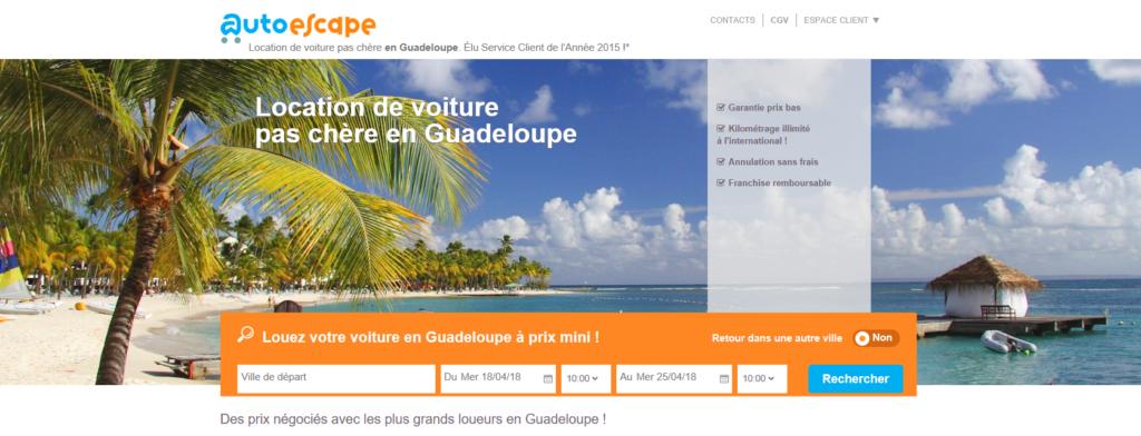 Autoescape Guadeloupe